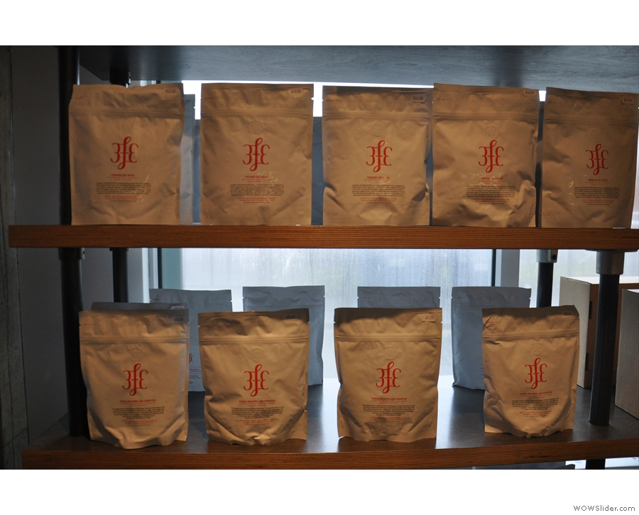 Established's coffee comes from various roasters, but predominantly Dublin's 3FE.