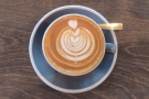 ... with some awesome latte art.