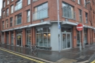 On the edge of Belfast's historic Cathedral Quarter is this surprisingly modern building.