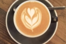 ... here's a flat white made with Yorks' latest espresso, a washed Rwandan.