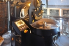 It turns out that the awkward space at the back is just the right size for a roaster!