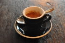 I went for a shot of the guest espresso, a Fazenda Ouro Verde from Brazil.