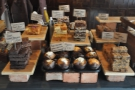 ... and this array of cakes for those who fancy something sweet.