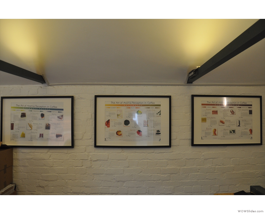 There's lots of neat bits of decoration in Root & Branch. These posters are upstairs...