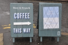 I spy, with my little eye, a very handy sign on Belfast's Ormeau Road.