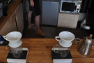 You can have pour-over if you like, from one of these Kalita Wave filters...