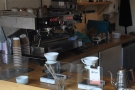 ... or something espresso-based from the La Marzocco behind them on the left-hand wall.