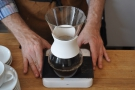Jonathon uses the Kalta Wave inside a carafe, not something I've seen before.