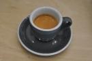 A classic espresso in a classic cup.