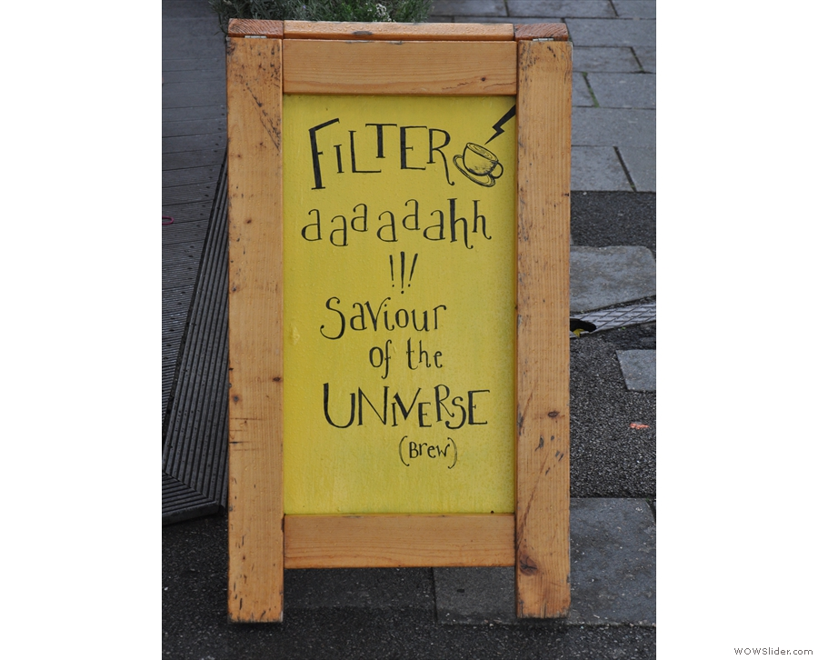 The A-boards are excellent, by the way. If you like bad word play, that is...
