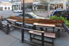 ... with some neat outside seating on the other side of the pavement.