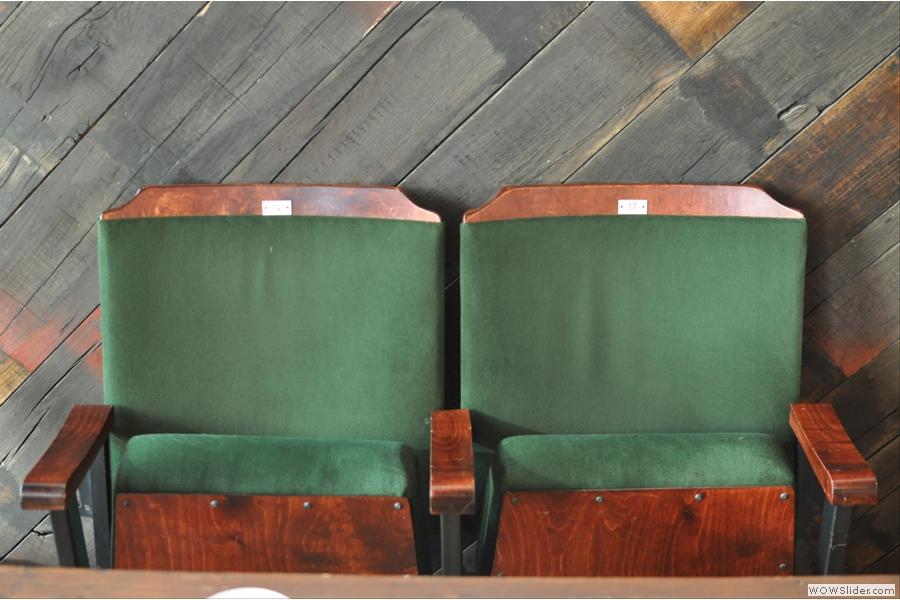 More cinema seats.