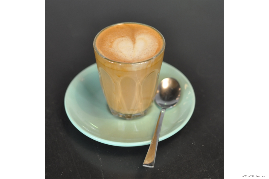 Finally, I saved the best until last: my cortado.
