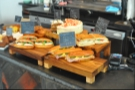 Another view of the sandwiches.