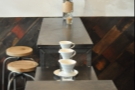 Lining up the Brew Bar.