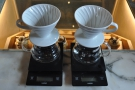 Pour-over is via the V60...