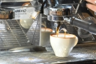 I love watching espresso extract. In triplicate!