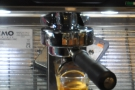 I particularly love watching espresso extract into glass, even when it's out of focus!