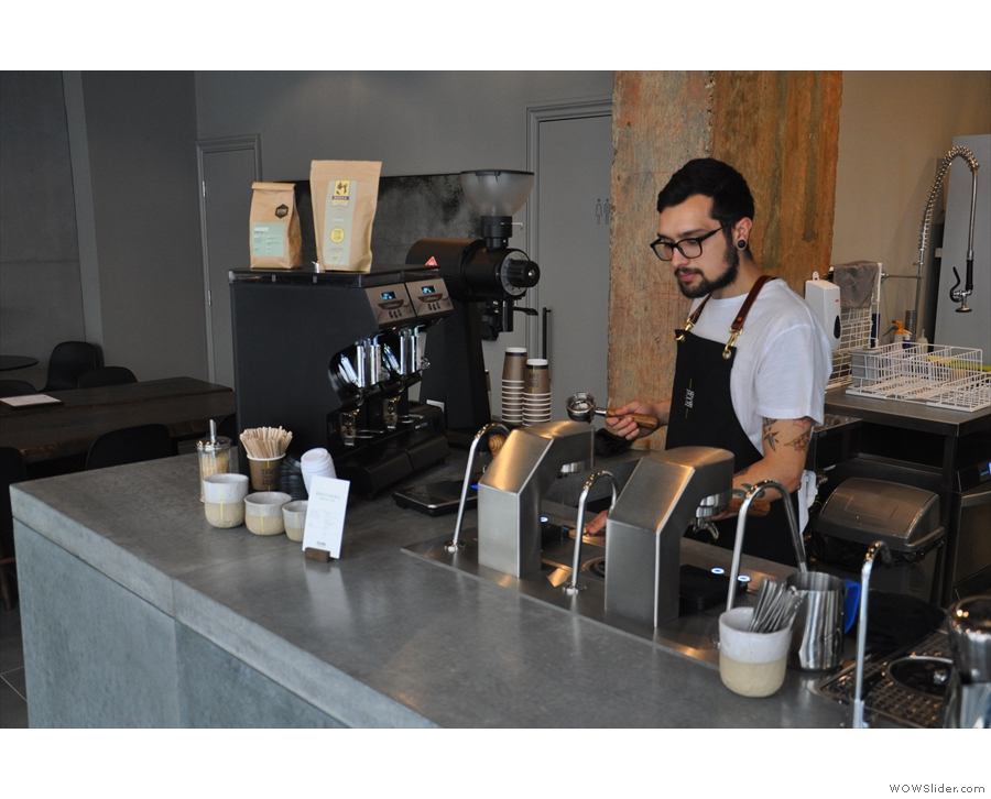 August saw me drooling over the lovely Mavam Espresso machine at London's Tab x Tab.