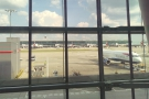 The transfer from Terminal 5 to Terminal 3 at Heathrow was very smooth.