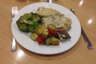 Flying business class got me lounge access and a free dinner. I have a hard time...