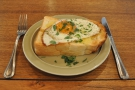 I returned the following day for brunch, the grilled egg toast...