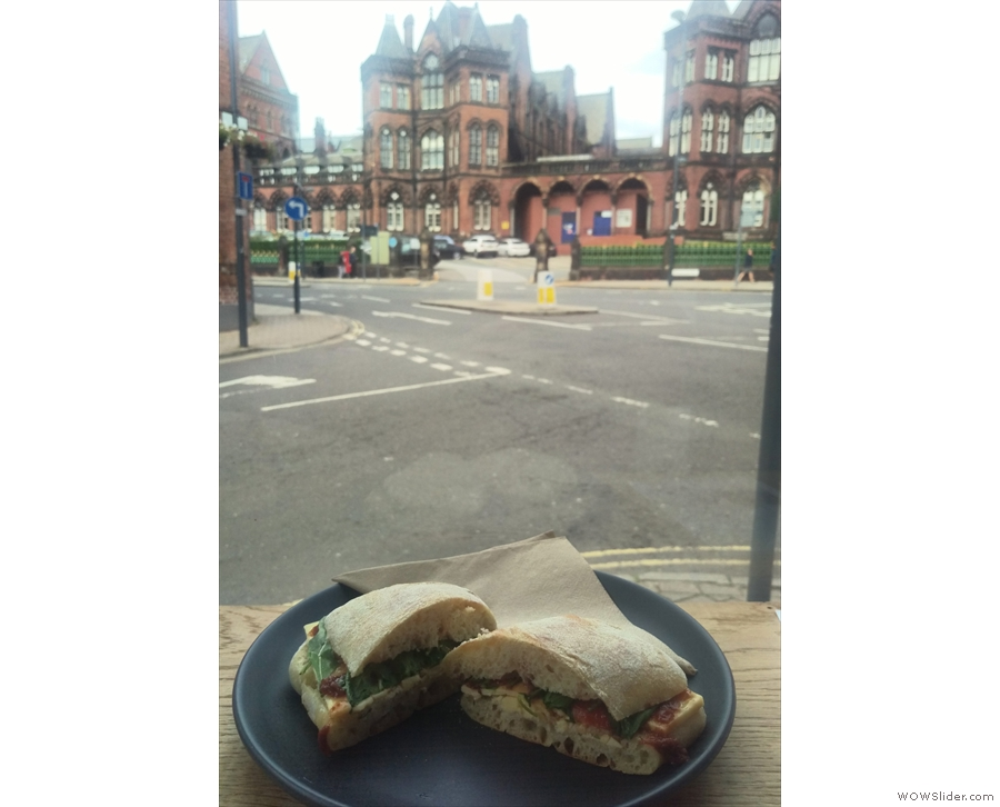 I'll leave you with my sandwich taking in the view.