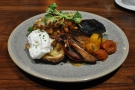 I went for brunch, selecting the awesome Laynes Breakfast, a fully vegetarian affair.