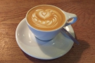 I visited twice, on Saturday and Sunday mornings, starting each day with a flat white.