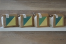... of colours for each of the seasonal single-origin coffees on sale.