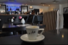 The espresso's eye view of the bar. Looks like it's been drinking already!