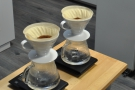 The two V60s, ready to go...
