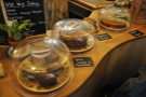 The remainder of the counter-front is given over to the cakes, all baked in-house.