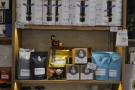 18 Grams mostly sells coffee, but there is a retail section, selling beans and coffee kit.