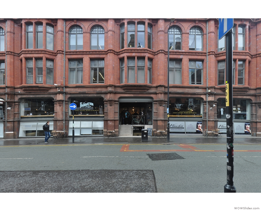 On Lever Street, in the heart of Manchester's Northern Quarter, stands Sevendale House.