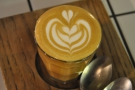 One of the advantags of hanging around the counter is you see lots of latte art...