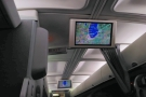 As on the flight out, there's no individual entertainment system, just communal screens.