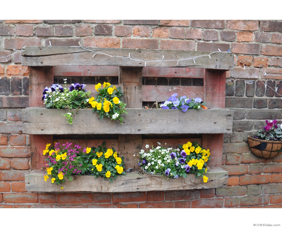 Nice flower boxes.