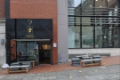 Forte Espresso Bar, on Manchester's St James's Square. More street than square though.