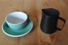 ... which I paired with a V60 of the El Topacio from El Salvador...