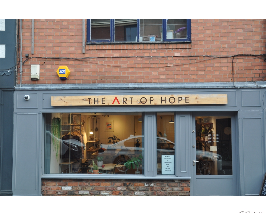 Things started with this shop, The Art of Hope, in April this year...