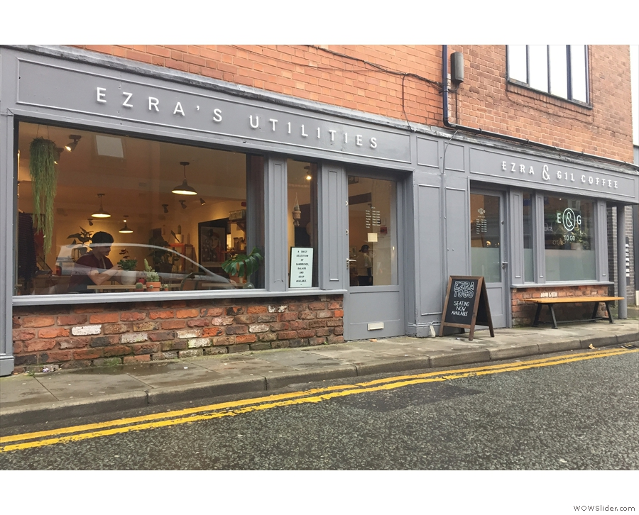 Although, as of last week, the shop has been rebranded as 'Ezra's Utilities'.