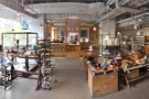 A panoramic view of the store, which are you free to visit and browse.