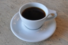 I also felt compelled to try the 'Naked' coffee, going with a V60 of a Kenyan single-origin.