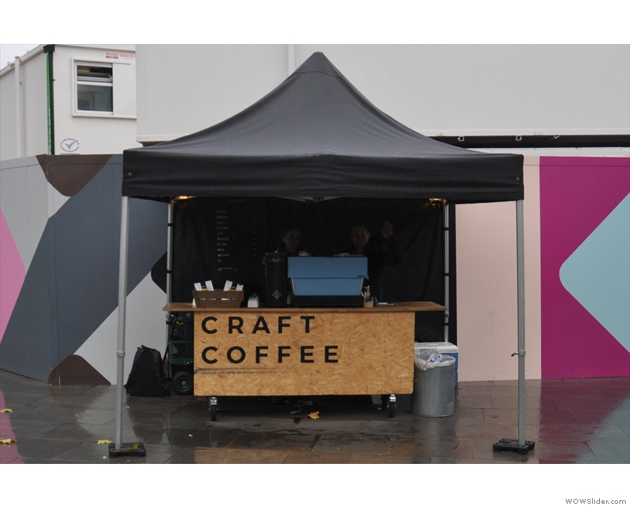 ... you'll now find Craft Coffee, serving fine coffee to commuters and locals alike.
