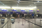 Heathrow T4 & no queues at check-in, so no business class queue-jumping privilege for me!