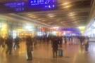 The arrivals hall at Shanghai Hongqiao station. I'm heading for 2F - Departures Floor.