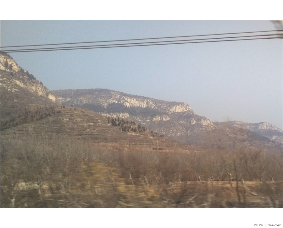 I really loved these mountains. They're just under three hours from Shanghai.