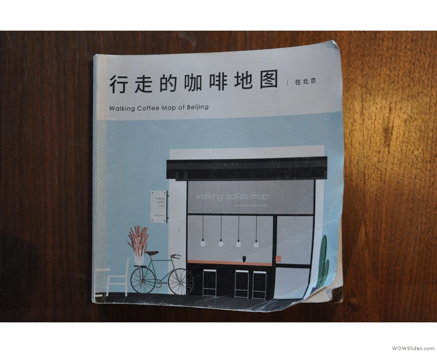 The company behind The Corner also publishes a coffee shop guide to Beijing.
