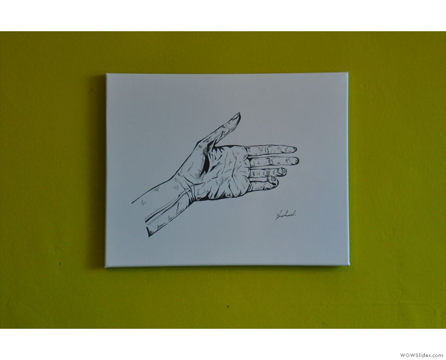 ... of which this one of an open hand was my favourite.